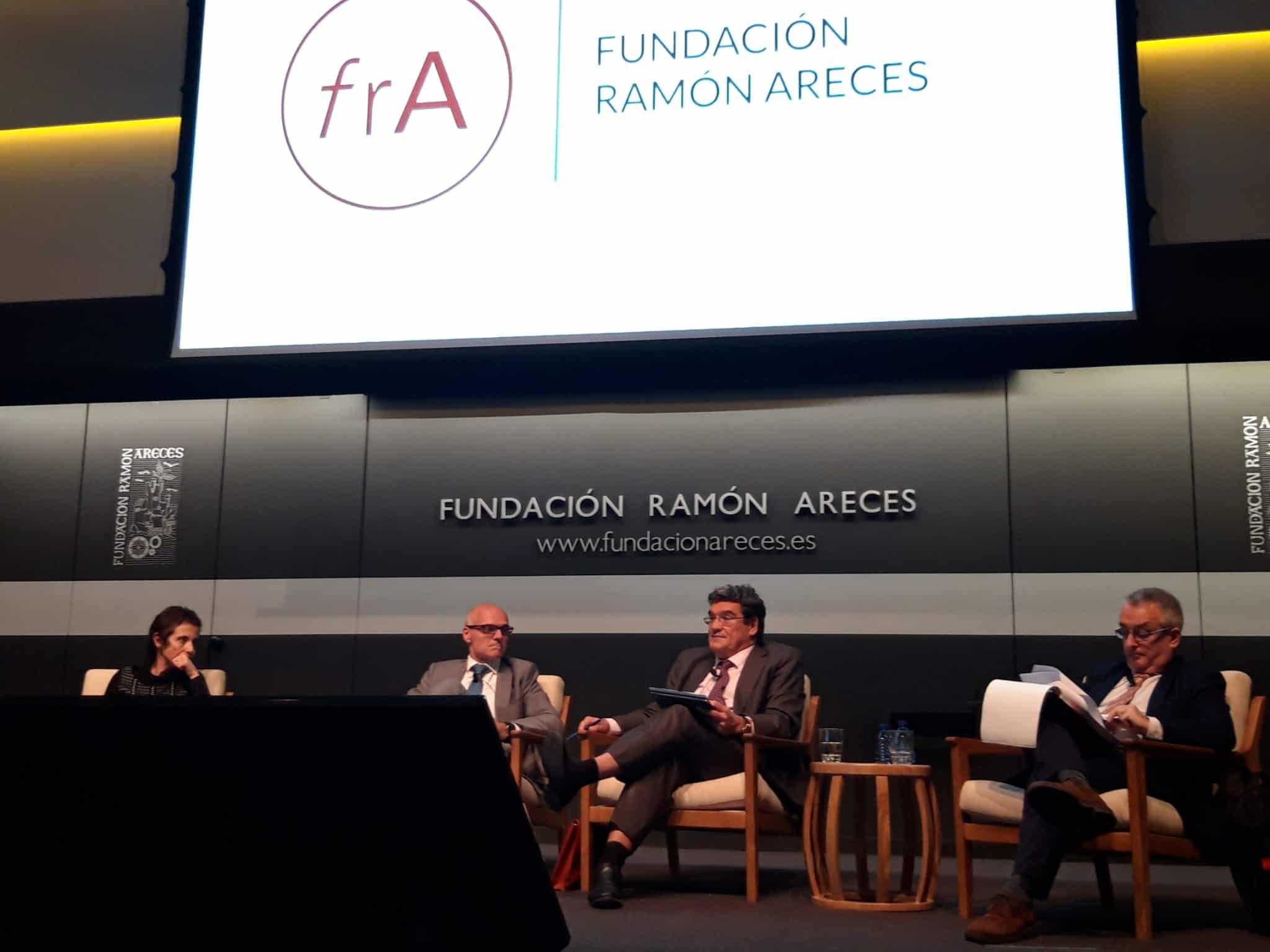 José Luis Escrivá en la Fundación Ramón Areces