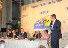 José Luis Escrivá participa en el Nueva Economía Fórum