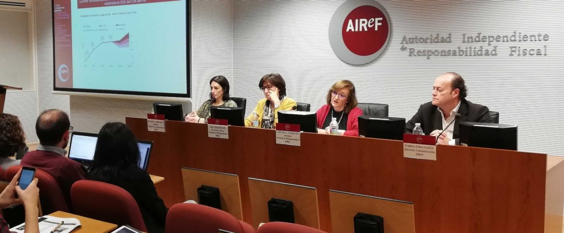 Cristina Herrero, assumes the Presidency of AIReF on an interim basis