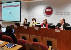 Cristina Herrero asume la presidencia de la AIReF de forma interina