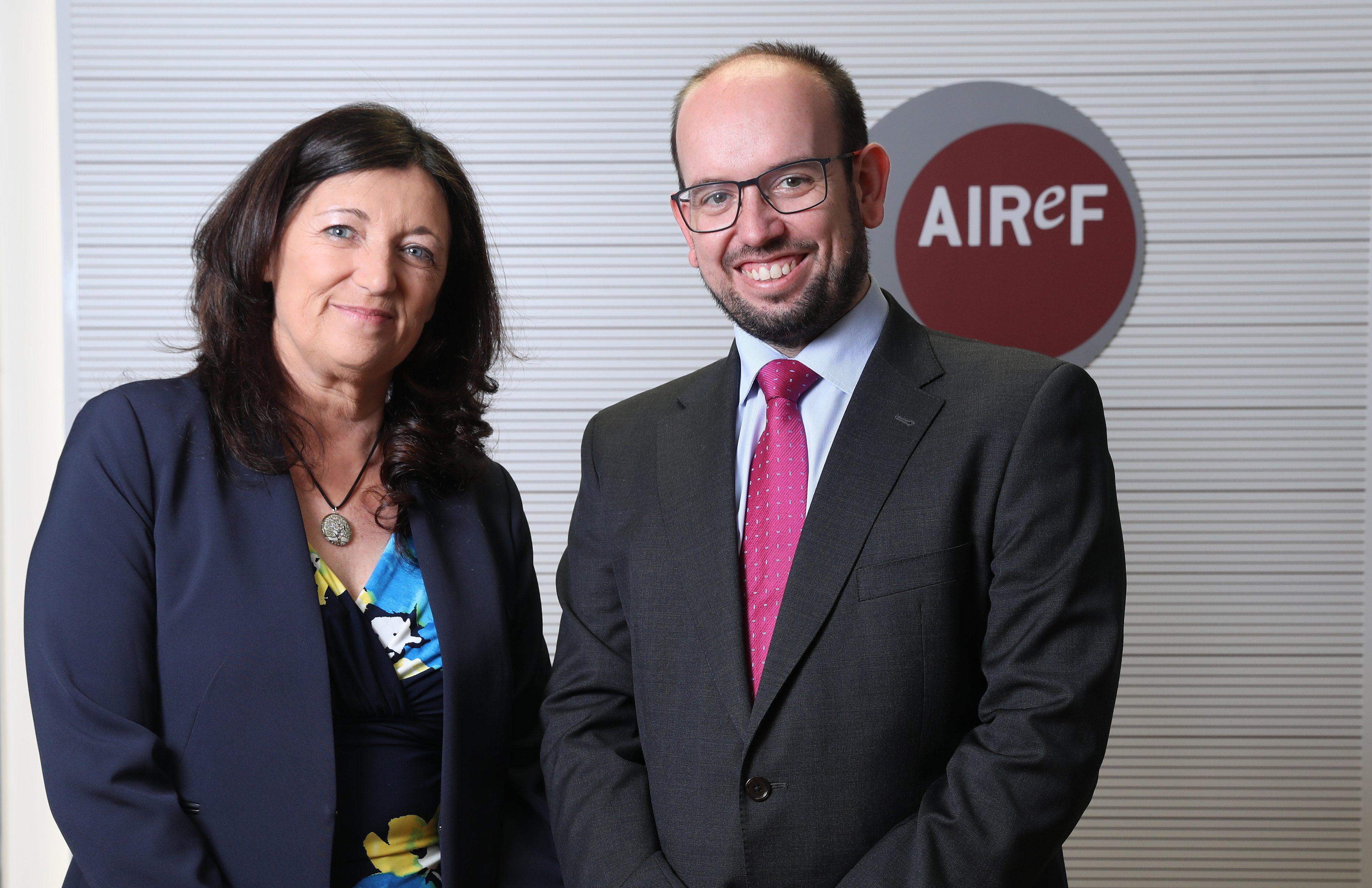 Esther Gordo e Ignacio Fernández-Huertas