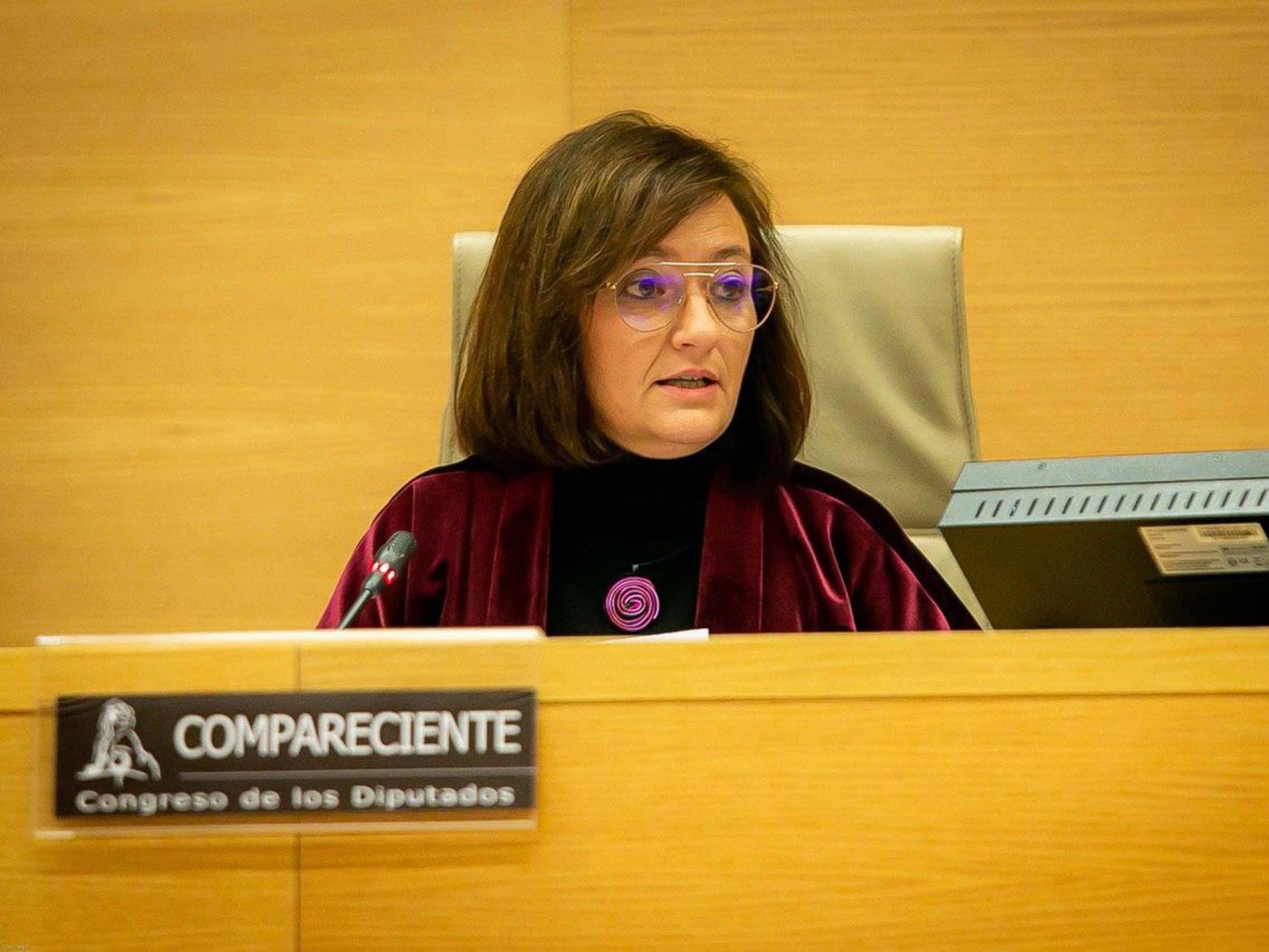 La presidenta de la AIReF, Cristina Herrero