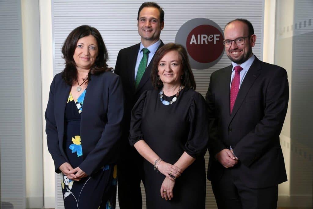 El nuevo Comité Directivo de la AIReF