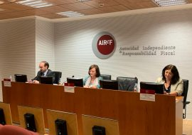 AIReF recommends activating the escape clause, establishing a medium-term fiscal strategy, and implementing the proposals of the Spending Review