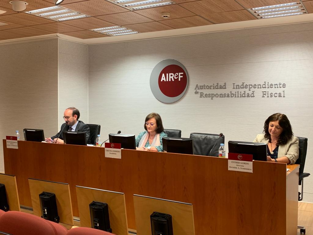 Rueda de Prensa en AIReF