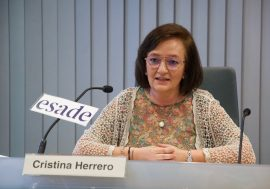 Cristina Herrero demands greater institutional quality and highmindedness to face an unprecedented situation