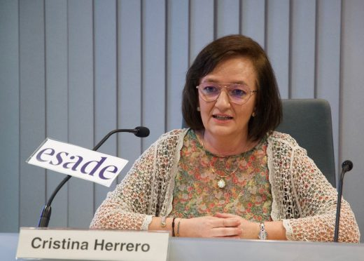 La presidenta de la AIReF, Cristina Herrero, en Esade