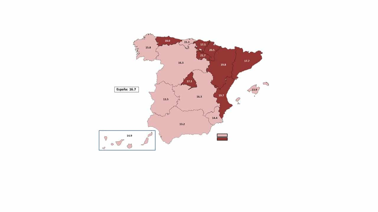Mapa Metcap