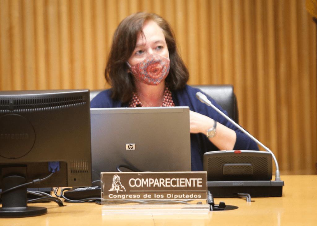 Cristina Herrero Comisión para la calidad democrática Congreso