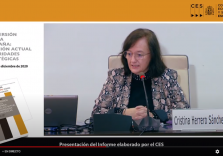 Cristina Herrero assures that it is necessary to reconsider public investment which is in need of a wider vision and a better project selection