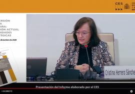 Cristina Herrero: Hay que reconsiderar la inversión pública, con una visión más amplia y una mejor selección de proyectos