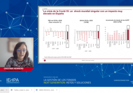 Cristina Herrero states that the impact of European funds can be boosted with adequate coordination between the General Government and an integral evaluation