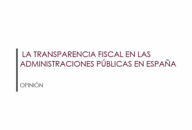 Opinión Transparencia Fiscal