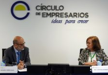 Cristina Herrero analyses the economic situation and fiscal challenges in a meeting with 'Círculo de Empresarios'