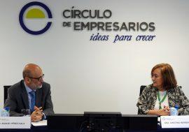 Cristina Herrero analiza la situación económica y retos fiscales en un encuentro con el Círculo de Empresarios