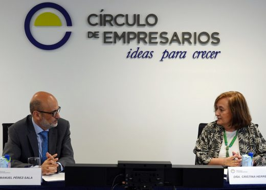Cristina Herrero en el Círculo de Empresarios